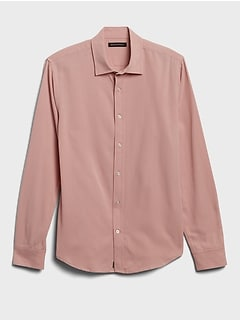 Untucked Slim-Fit Super Soft Shirt