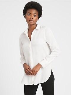 Petite Parker Tunic-Fit Shirt