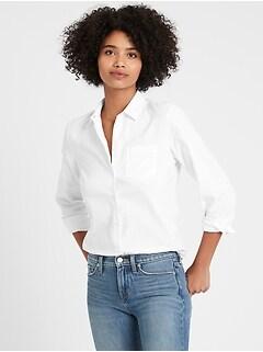 Quinn Straight-Fit Oxford Shirt