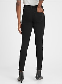 Mid-Rise Skinny Fade-Resistant Ankle Jean