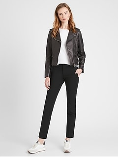 Petite Ryan Slim Straight-Fit Washable Bi-Stretch Pant