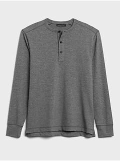 Cozy Henley T-Shirt