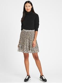 Mini-jupe plissée, Petite