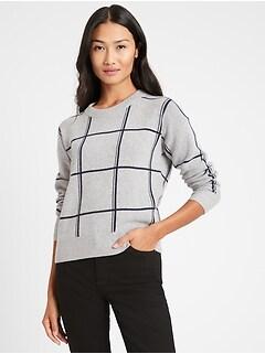 Italian Wool-Blend Sweater