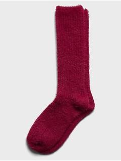 Chaussettes duveteuses