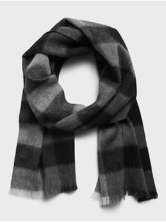 Gradient Wool Scarf