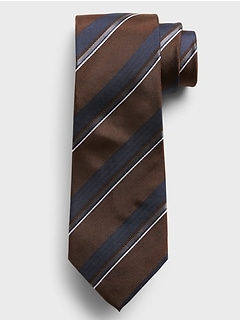 Competing Stripes Tie