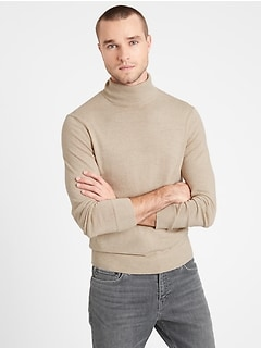 Italian Merino Turtleneck Sweater