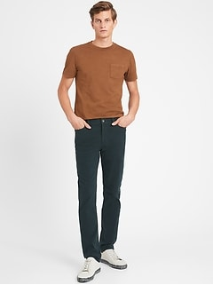 Slim Cozy Brushed Traveler Pant