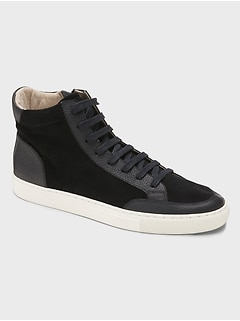Dext Suede High-Top Sneaker