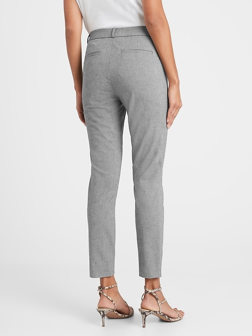 Pantalon lavable, coupe Sloan moulante