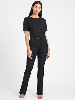 Curvy High-Rise Flare Jean