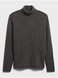 Heritage Recycled Cashmere Turtleneck Sweater