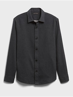 Heavyweight Double-Weave Shirt Jacket