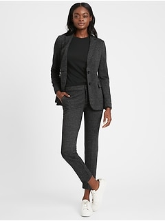 Petite Unstructured 24-Hour Ponte Blazer