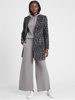 Manteau à motif léopard, Petite