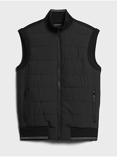 Quilted Heavyweight French Terry Vest