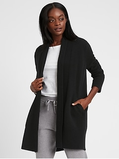Cashmere Long Cardigan Sweater