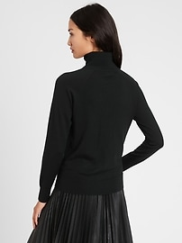 Petite Merino Turtleneck Sweater in Responsible Wool