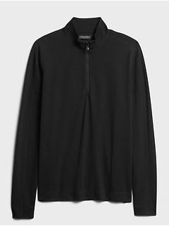 Core Temp Mesh Half-Zip T-Shirt