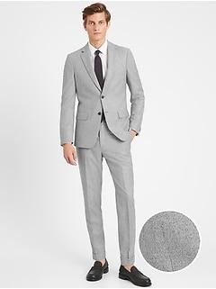 Slim Suit Jacket in Responsible Wool