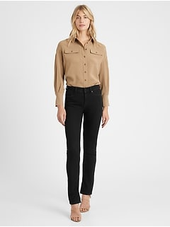 Petite High-Rise Slim Stiletto Jean
