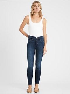 Petite High-Rise Slim Jean