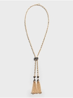 Rope Slider Necklace
