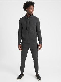 Organic Cotton Sweater Jacket