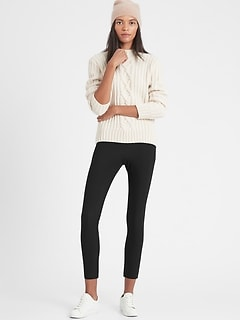 High-Rise Skinny-Fit Packable Performance Pant