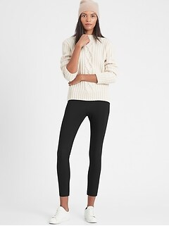 Petite High-Rise Skinny-Fit Packable Performance Pant
