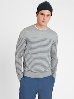Merino Stripe Sweater in Responsible Wool