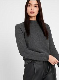 Chunky Mock-Neck Sweater
