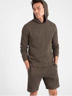 Double-Knit Hoodie Sweatshirt