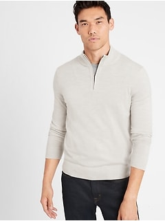 Merino Half-Zip Sweater