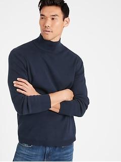 SUPIMA® Mock-Neck Sweater
