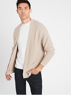SUPIMA® Open Cardigan Sweater