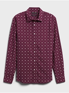Untucked Slim-Fit Organic Cotton Shirt