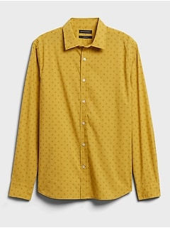 Standard-Fit Organic Cotton Shirt