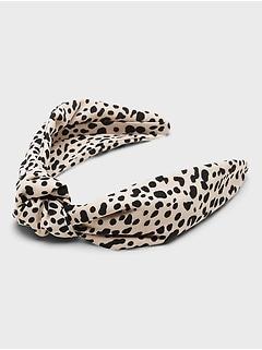 Animal Print Knot Headband