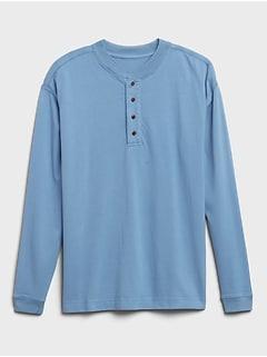 Heritage Heavyweight Henley T-Shirt
