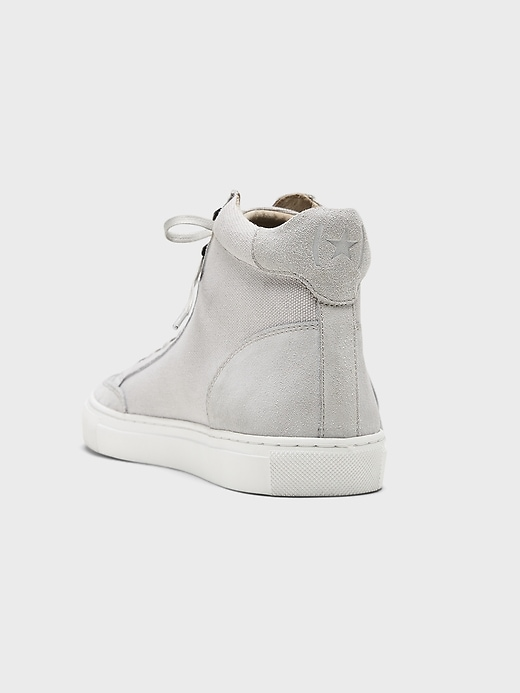 Dext II High-Top Suede Sneaker