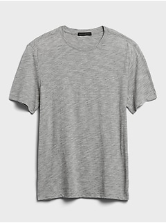 Organic Soft Wash Crew-Neck T-Shirt