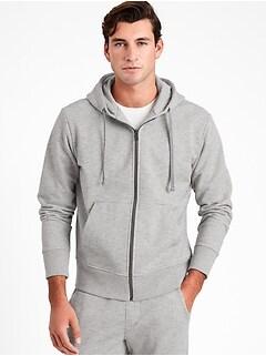 French Terry Hoodie Sweatshirt