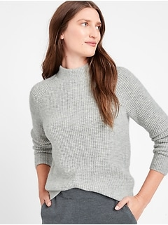 Aire Waffle-Knit Sweater