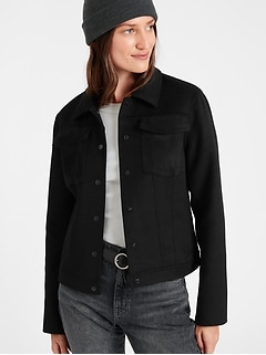 Double-Faced Trucker Jacket