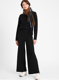 Ribbed Sweater Pant