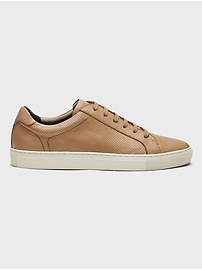 Nicklas Perforated Leather Sneaker