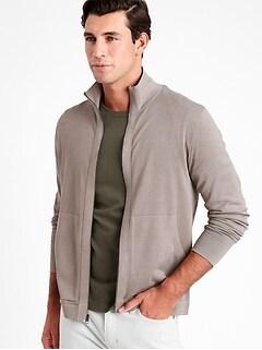 SUPIMA® Sweater Jacket