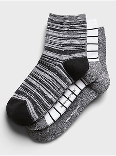 Marled Ankle Sock 3-Pack